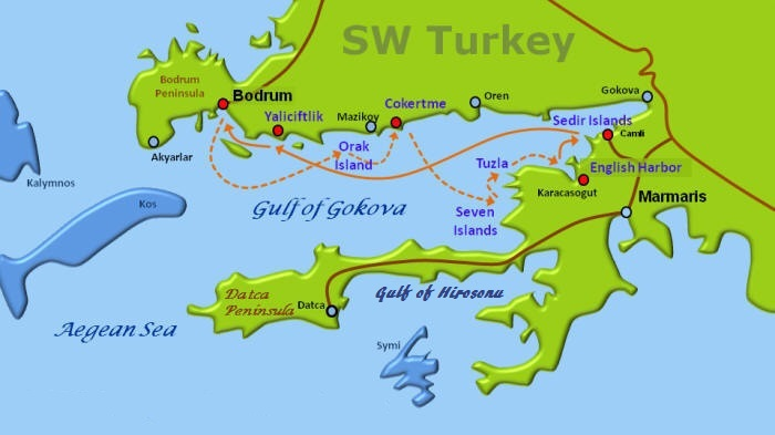 Gulet Cruises in Turkey